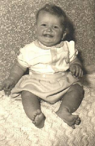 Martin H Covington aged 18 months in 1957